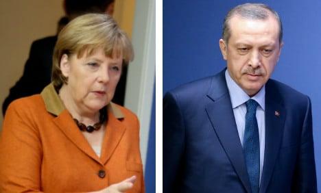 Merkel hits back at Erdogan's threats against Turkish MPs