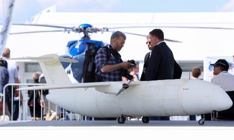 3D-printed aircraft debuts at Berlin air show
