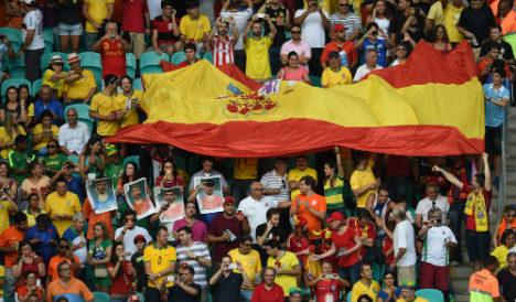 La Roja fans branded 'Spanish whores' in Barcelona attack