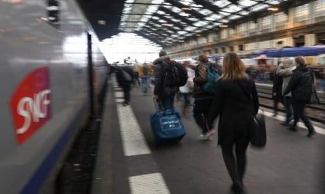 French trains ARE still running despite the strikes