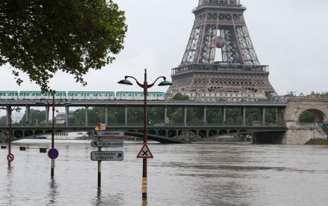 Terrorism, strikes, now floods: Paris takes yet another hit