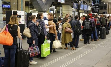 France suffers as rail strikes drag through sixth day