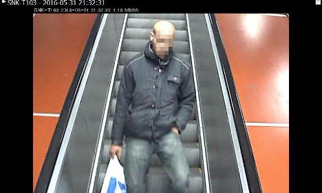 Stockholm court detains man over metro attack