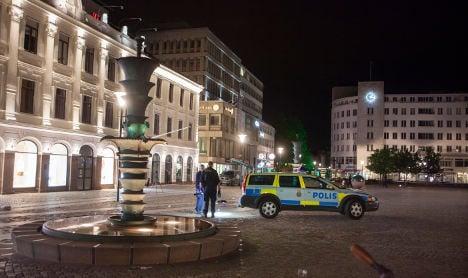 Swedish police shoot 'knife man' in Malmö