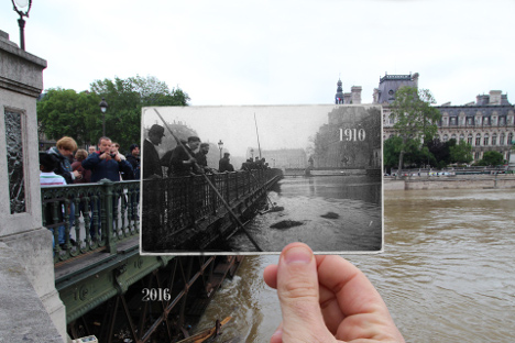 IN PICS: The Paris flood of 2016 vs the 1910 'flood of the century'
