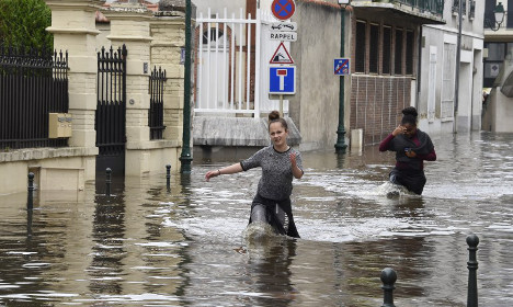IN PICTURES: France left drenched after more floods