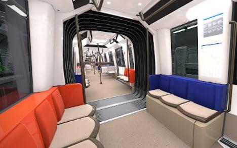 Paris Metro trains to get modern makeover