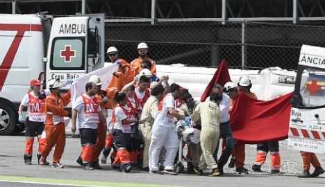 Spanish motorcycle rider dies of injuries after crash