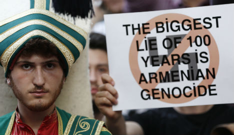 German genocide vote 'has no value': Erdogan