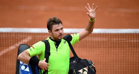 Swiss champ Wawrinka loses semifinal to Murray