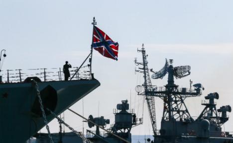 Merkel blames Russia for breakdown of trust with NATO