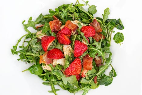 How to make a Swedish chicken and strawberry salad