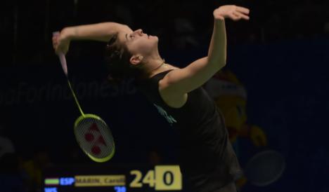 Flamenco queen makes bid for badminton gold for Spain