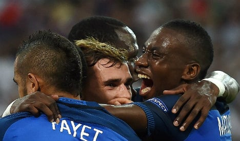 France beat Germany 2-0 to reach Euro 2016 final