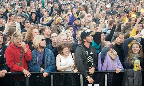 Five rape reports filed during Roskilde Festival