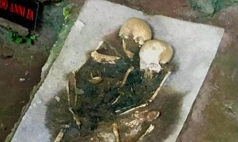 Italians model 17,000-year-old brain from child's skull
