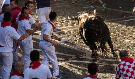 Five held over sexual assault after first day of bull run fest