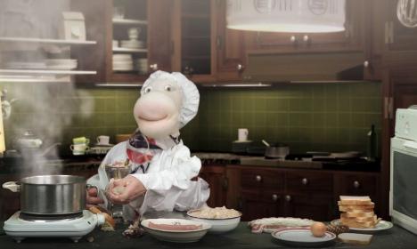 Swedish kids' TV cooks up storm with condom haggis
