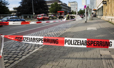'One dead and two injured' in Germany machete attack