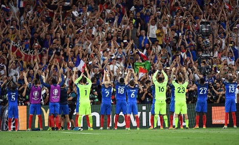 French finally fall back in love with Les Bleus