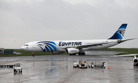 EgyptAir flight broke up midair after fire: report