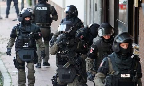 German police raid 'hotbed of radicalization'