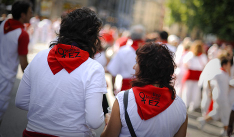 Pamplona on alert for sexual assaults at bull run fest