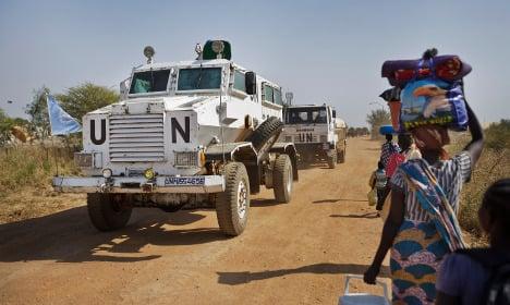 UN slams Swedish troops pullout in South Sudan