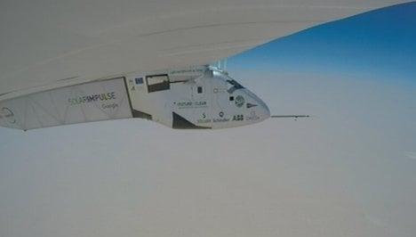 Swiss solar plane nears end of epic trip