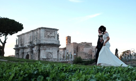 Church weddings 'likely to be extinct in Italy in 17 years'