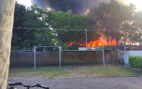 Danish tourist causes huge resort fire in Italy