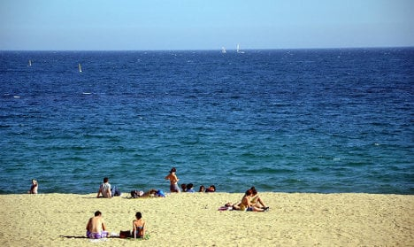 Cramped Barcelona nudists call for more beach space