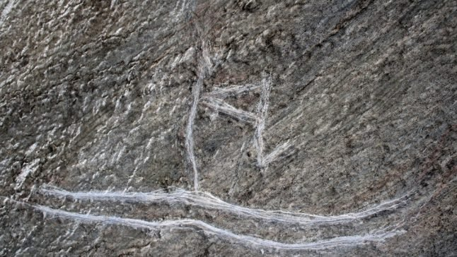 Norway youth 'improves' 5,000-year-old skier carving