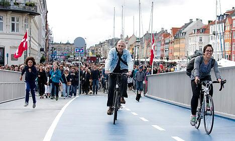 Surprise! Long-delayed Copenhagen bridge opens