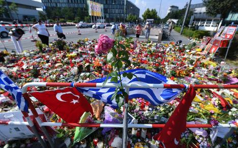 German Turks mourn Munich shooting victims