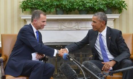 Barack Obama to meet king of Spain in long-awaited visit
