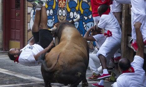 Six gored in 'war-like' Pamplona bull run