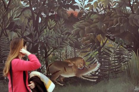 Henri Rousseau exhibition proves huge hit in Paris
