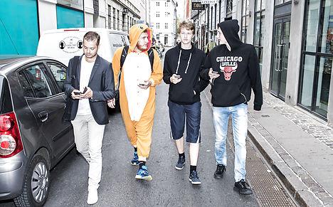 Danish Pokémon Go player finds dead body