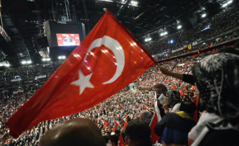Huge pro-Erdogan rally puts strain on Turkish community