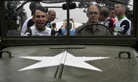 Cavendish remembers D-Day dead after Tour de France win