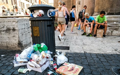 Filthy Rome's rubbish problem 'fixed within a month'