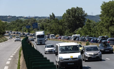 France braces for busiest day of traffic all summer