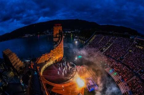 Who will open the Bregenzer Festspiele?