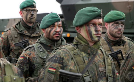 Germany stresses defence of Baltics after Trump comments