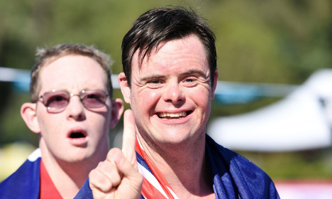 Italy hosts first Down's Syndrome 'Olympics'