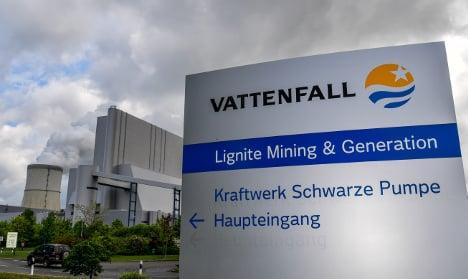 Sweden backs Vattenfall exit from German coal