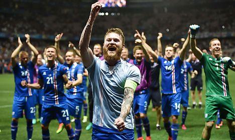 Iceland's football team slams Danish party's racist post