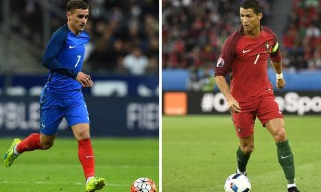 Griezmann v Ronaldo – duel of the magnificent sevens