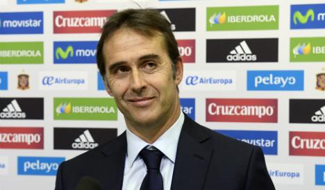 Spain's new coach Lopetegui promises 'evolution'